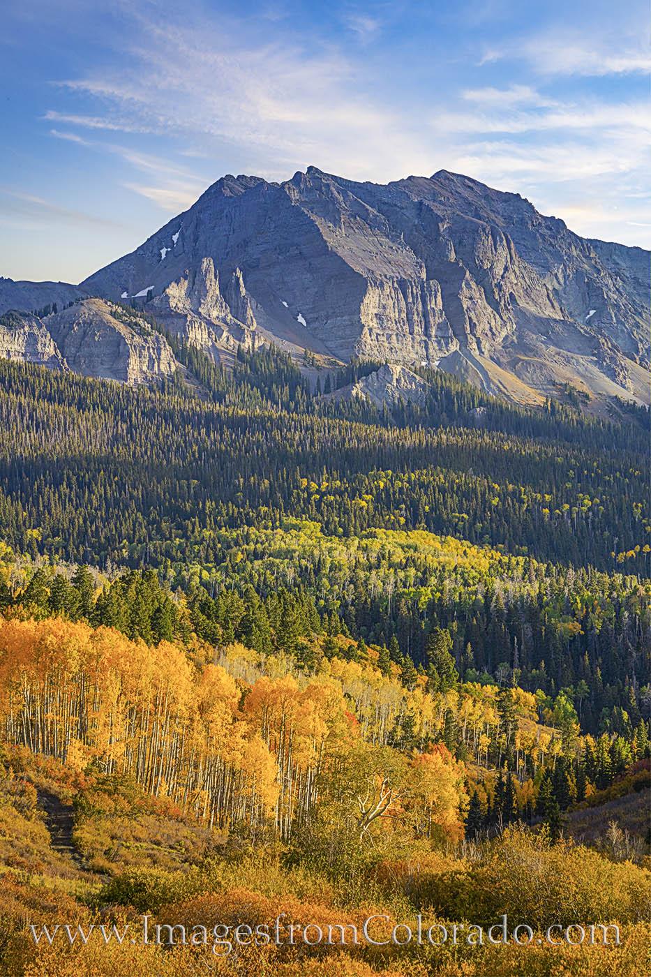 dallas divide, san juans, ridgway, montrose, fall colors, autumn, gold, aspen, photo