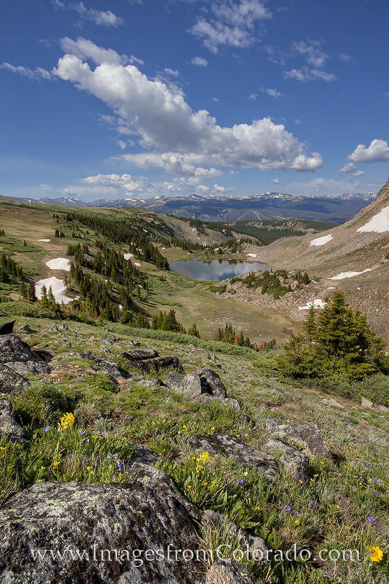 winter park; deadman's lake; corona pass; rollins pass; colorado images, photo