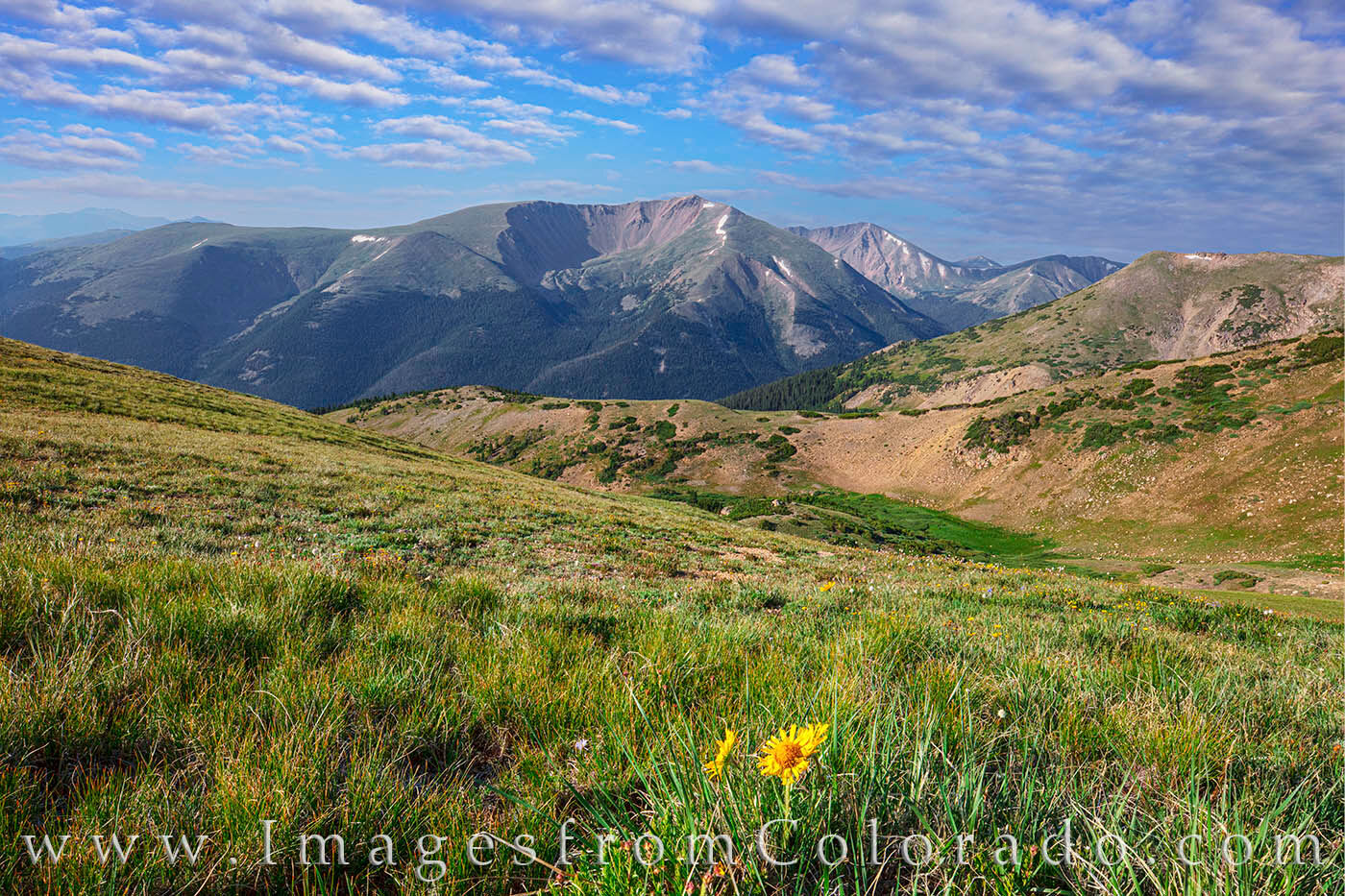 At 13,368', Englemann Peak is a 13er on the front range that is easily recognizable. Folks traveling up Berthoud Pass can't help...