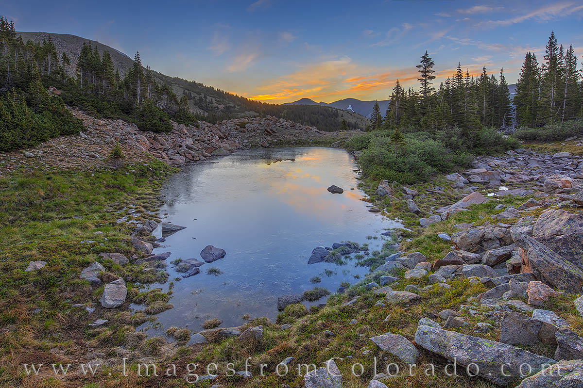 A short drive from Winter Park up Berthoud Pass, this area near treeline is beautiful in the summer. At just under 12,000'...