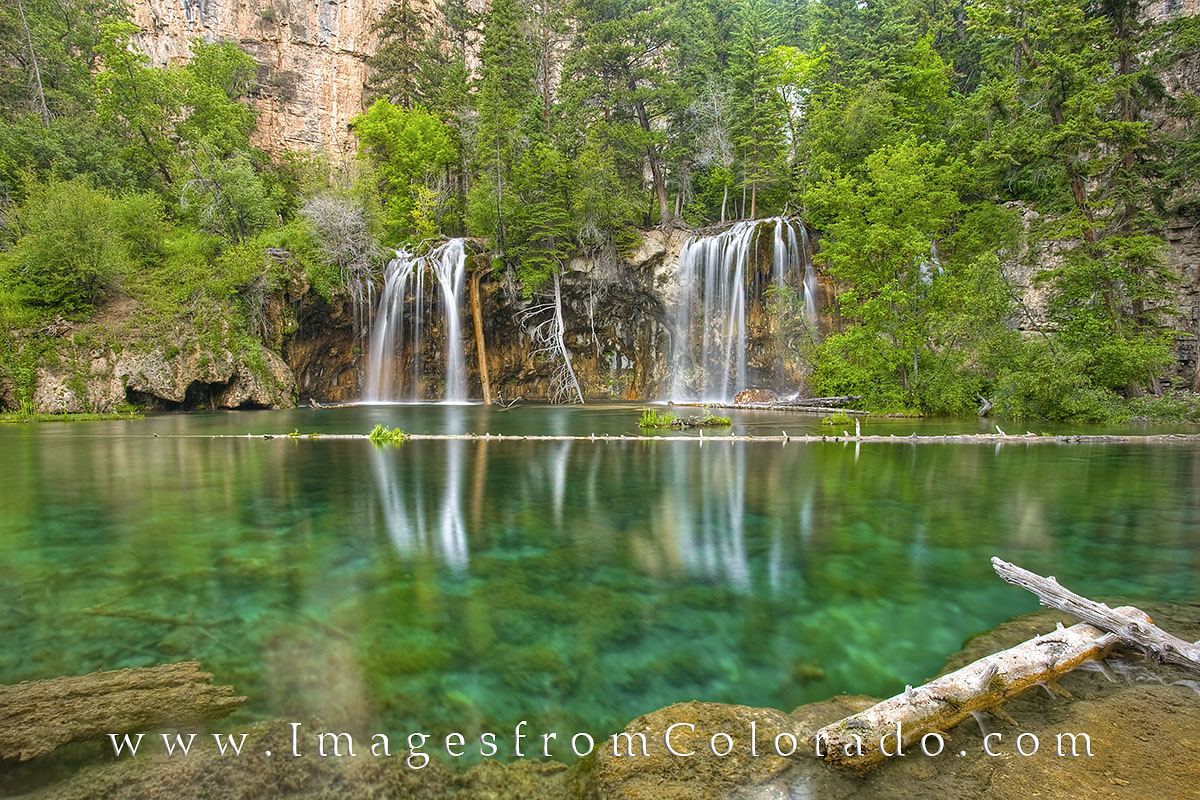 hanging lake, glenwood springs, colorado waterfalls, hanging lake falls, rocky mountains, colorado landscapes, photo
