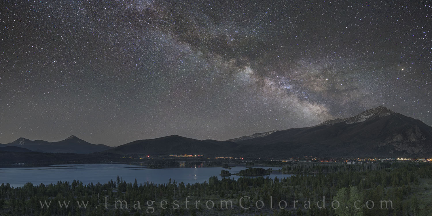 lake dillon, frisco, milky way, dillon reservoir, night sky, mily way images, colorado milky way, breckenridge, photo