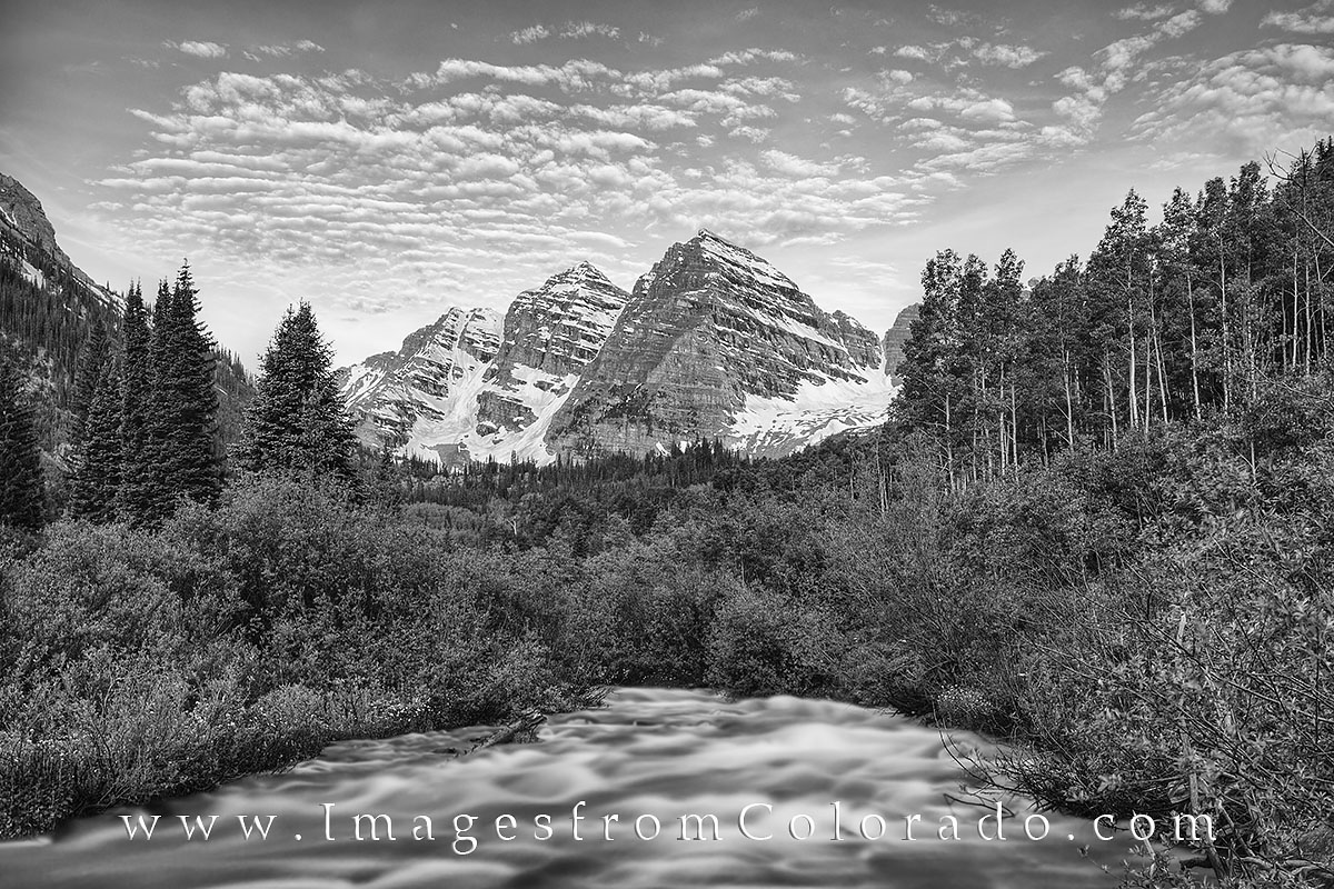 Black and white, Colorado black and white, Colorado photos, Colorado images, maroon bells, maroon creek, maroon lake, aspen, snowmass, maroon bells wildernesss, photo