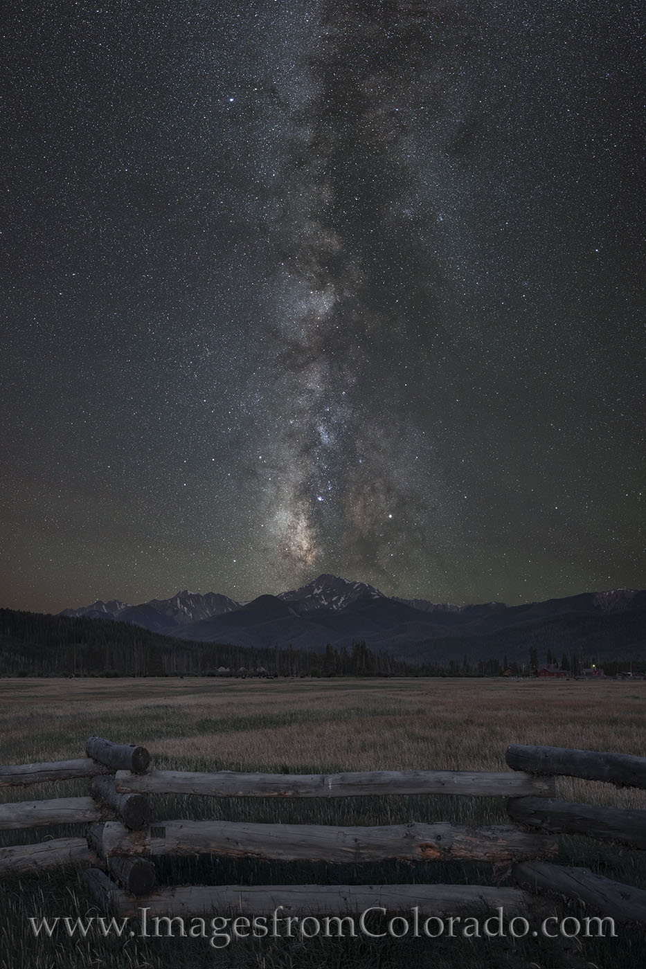 milky way, byers peak, stars, fraser, grand county, night, dark skies, fence, cold, summer, night sky, fraser valley, photo