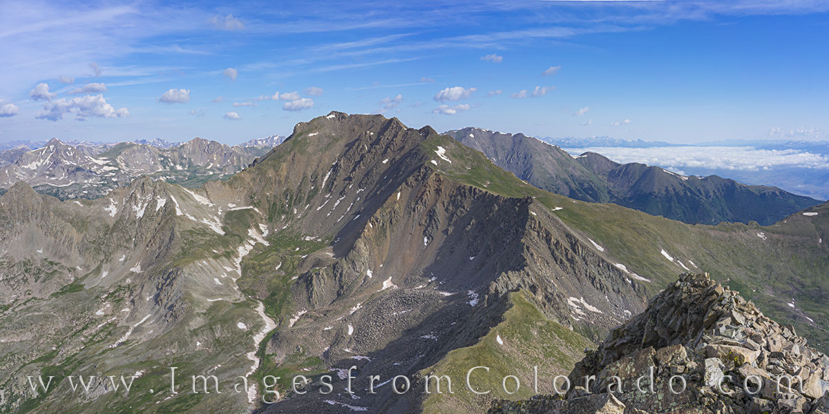 harvard, columbia, 14ers, buena vista, sawatch, hiking, colorado trails, rocky mountains, mount harvard, mount columbia, summer, photo