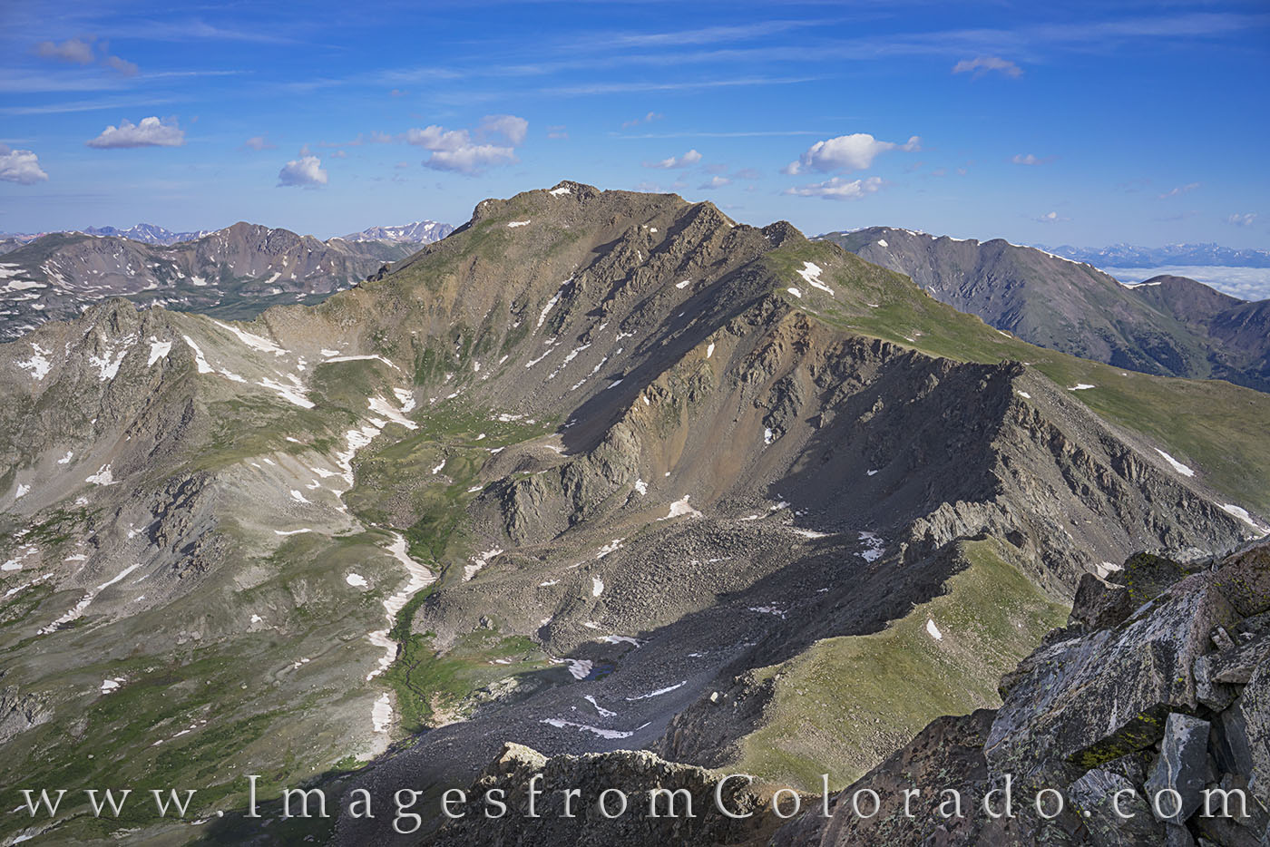 harvard, columbia, mount harvard, mount columbia, 14ers, buena vista, sawatch, rockies, hiking, summer, peaks, summits, photo