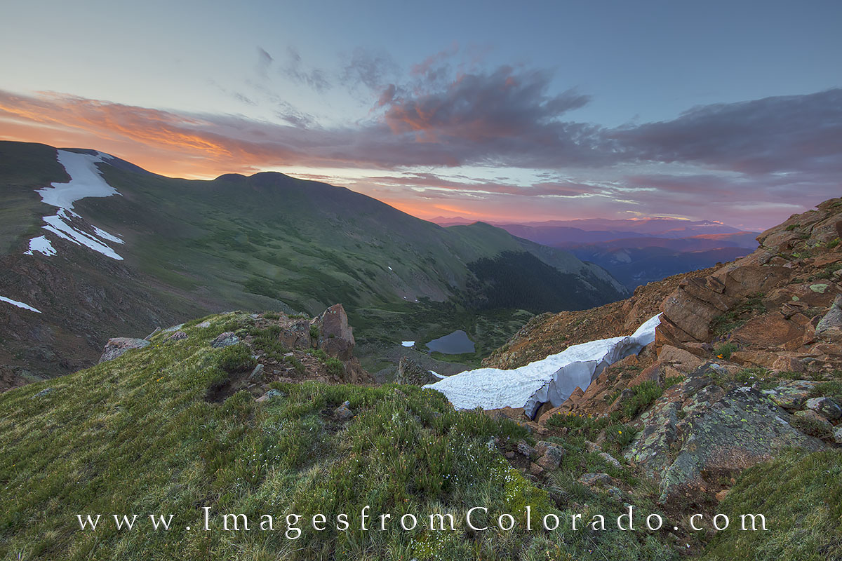 berthoud pass, grand county, mount flora, 13ers, colorado mountains, colorado images, winter park, highway 40, colorado sunrise, mt. flora, CDC, continental divide, photo