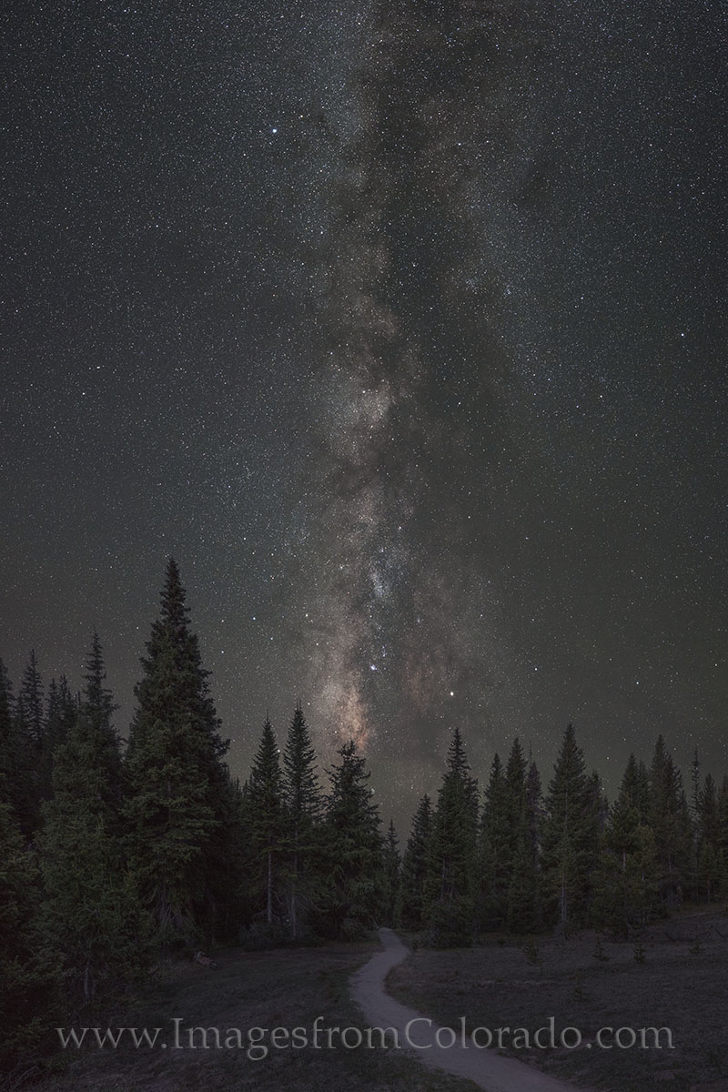rocky mountain national park, RMNP, RMNP images, milky way, milky way images, lake irene hiking, trails, hiking colorado, night sky, stars, summer, photo