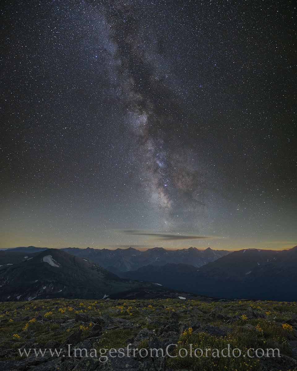 colorado images, colorado prints, colorado landscapes, milky way images, colorado wildflowers, rocky mountain national park, rocky mountains, trail ridge road, rmnp image, night sky images, night sky, photo
