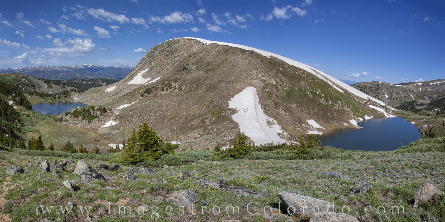rollins pass, corona pass, winter park colorado, colorado landscapes, panorama, deadmans lake, pumphouse lake, photo