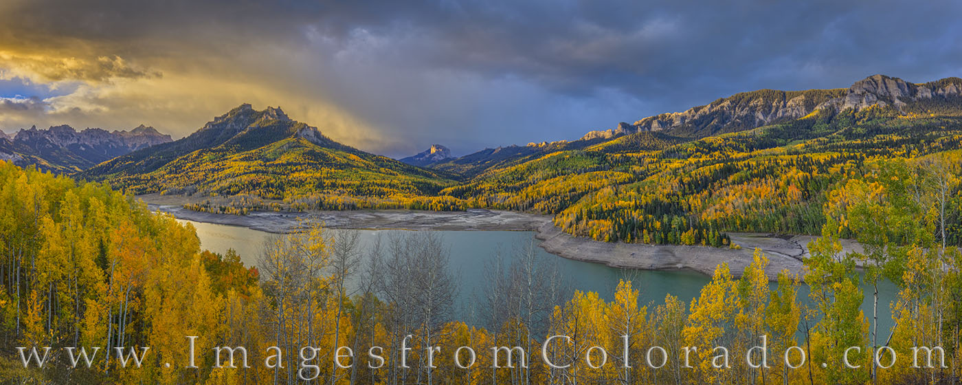 Stormy Autumn Morning over Silver Jack 104-1