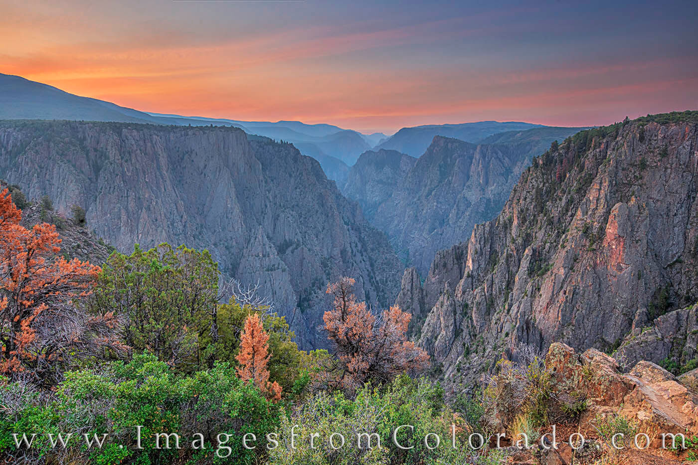 Near the entrance of the east portal of Black Canyon, Tomichi Point offers some amazing introductory views of this beautiful...