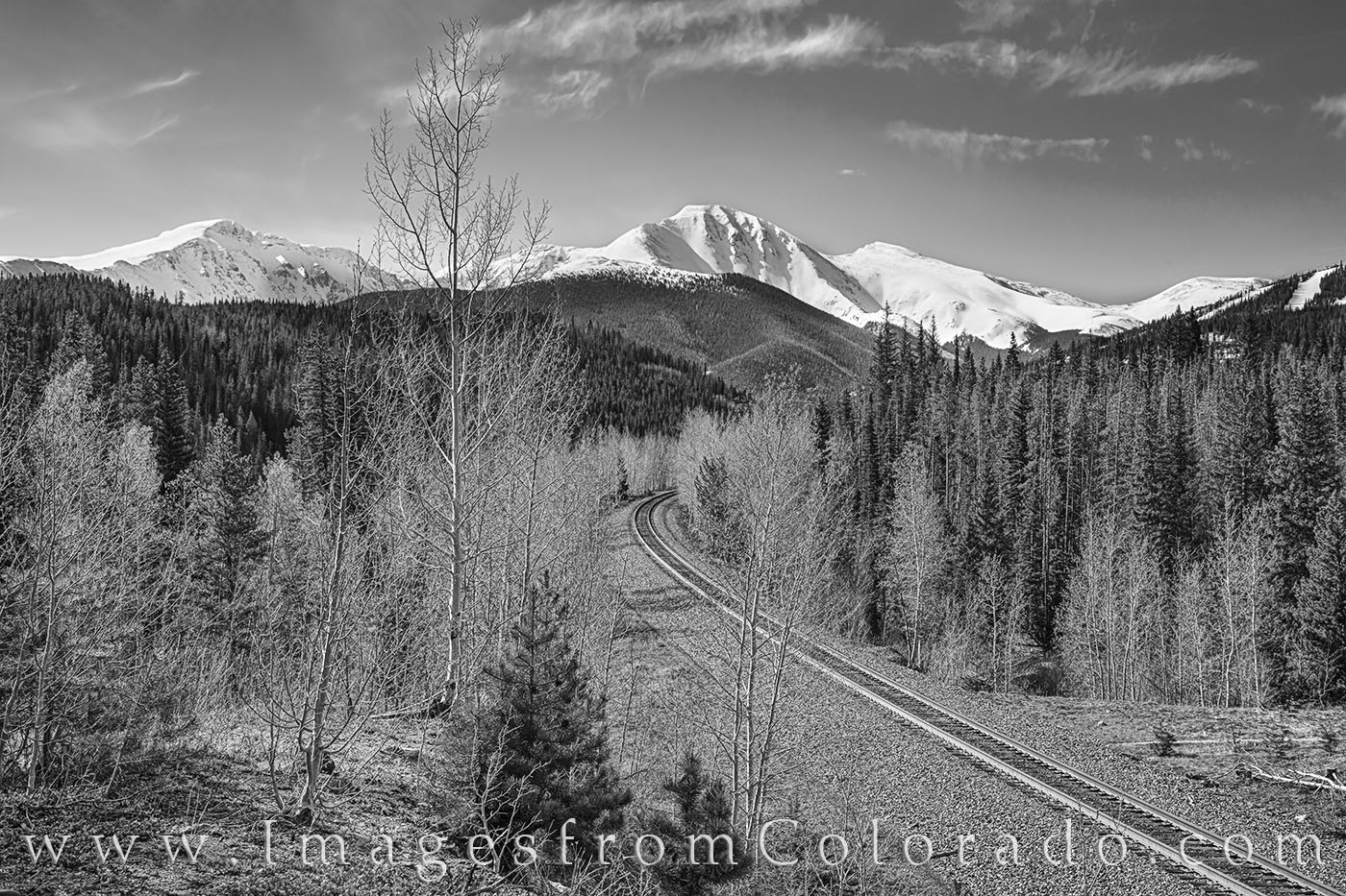 winter park, grand county, continental divide, parry peak, james peak, bear claw, spring, may snow, photo