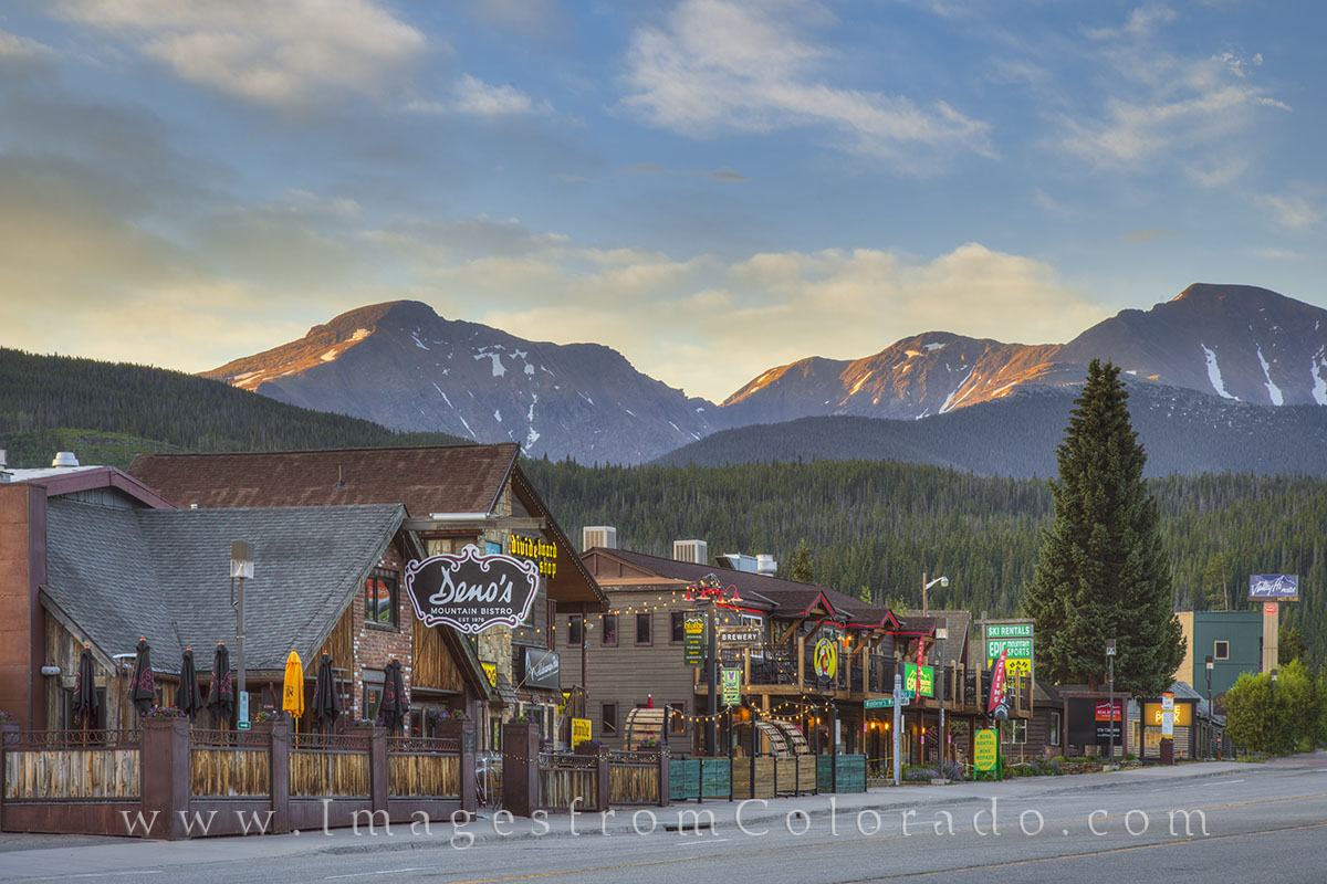 winter park colorado, winter park images, highway 40, grand county, deno's bistro, james peak, winter park summer, colorado summer, photo