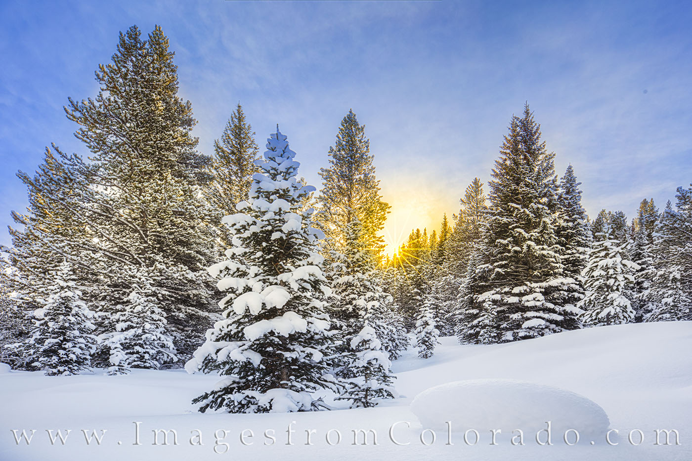 snow, winter, december, winter park, sunrise, sunburst, winter hiking, winter park, grand county, fraser, fraser valley, rocky mountains, photo